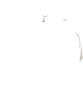 White Dress Clip Art