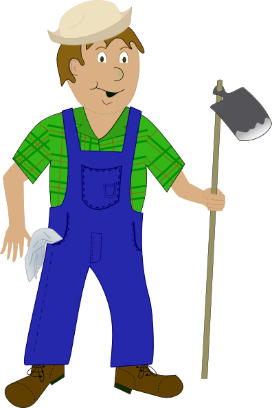 Farmer Clip Art at Clker.com - vector clip art online, royalty free ...