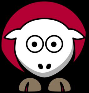 Sheep 4 Toned Tampa Bay Bucs Colors Clip Art At Clker Com Vector Clip Art Online Royalty Free Public Domain