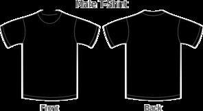 Black Shirt Template | Black Shirt Template Clip Art At Clker Com Vector Clip Art Online