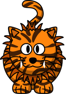 Tiger Cartoon Clip Art
