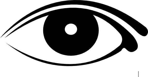 White Pupil Clip Art at Clker.com - vector clip art online ...