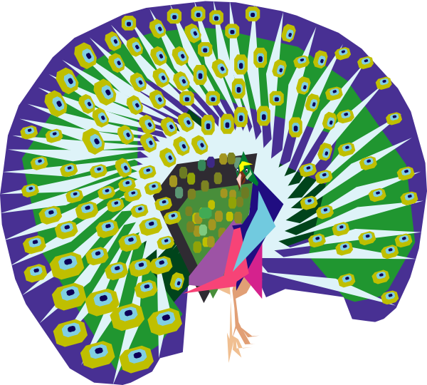 clipart pictures peacock - photo #22