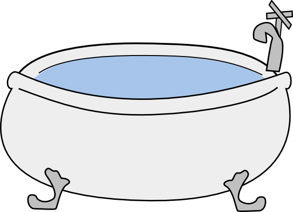 Http Www Clker Com Clipart Bathtub Big No Background Html