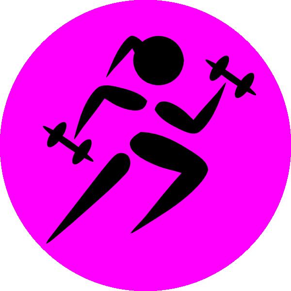 Strong Running Girl clip artStrong Girls Clipart
