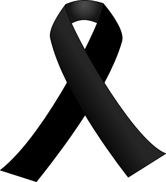 Black Ribbon Clip Art at Clker.com - vector clip art ...