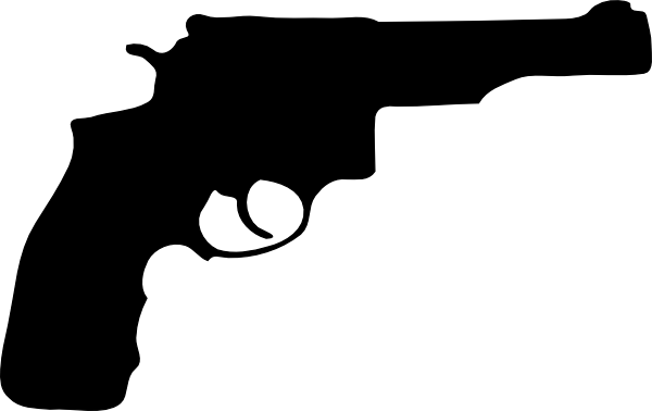 Pistol Silhouette Clip Art at Clker.com - vector clip art ...