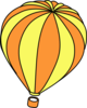 Hot Air Balloon One Clip Art
