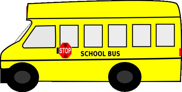yellow bus clipart - photo #1