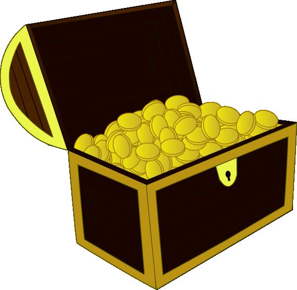 treasure chest clip art at clker com vector clip art online rh clker com treasure chest clip art kids treasure chest clipart black and white