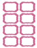 Candy Labels Blank Clip Art