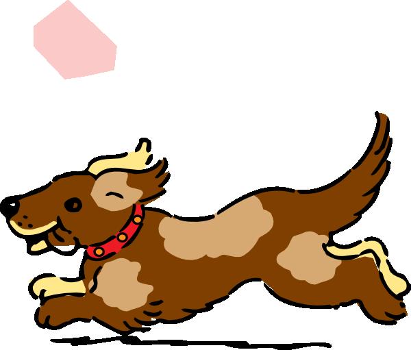 free clipart dog running - photo #6