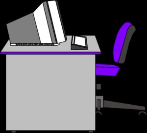 office desk clip art at clker com vector clip art online royalty rh clker com free office clipart computer free office clip art pictures