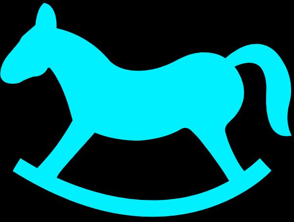 Rocking Horse Clip Art at Clker.com - vector clip art online, royalty ...
