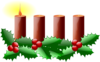 Advent Candles Clip Art