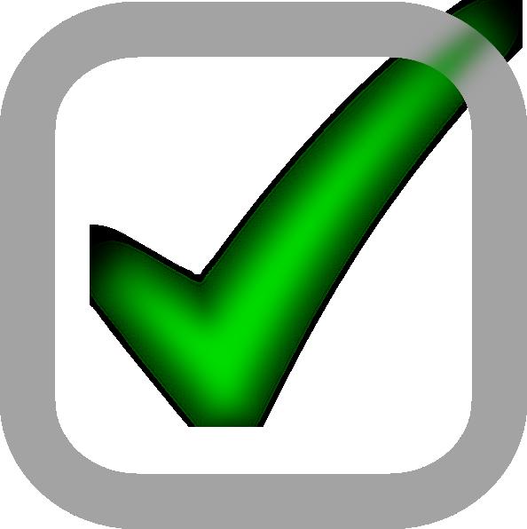 Small Checked Checkbox Clip Art at Clker.com - vector clip art ...