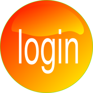 Orange Login Clip Art