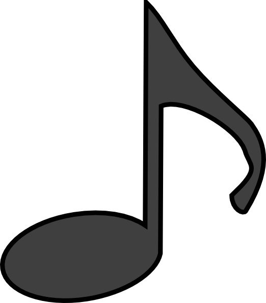 picture relating to Large Printable Music Notes identify Tunes Notice Clip Artwork at - vector clip artwork on the internet