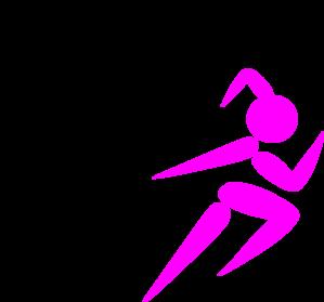 girl running clip art at clker com vector clip art online royalty rh clker com running shoes free clipart free clipart running shoes