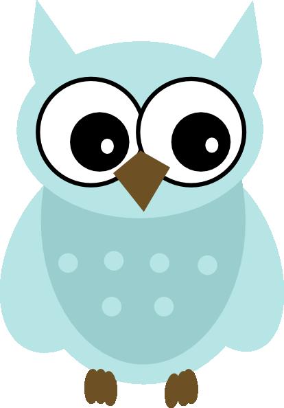 blue owl clip art at clker com