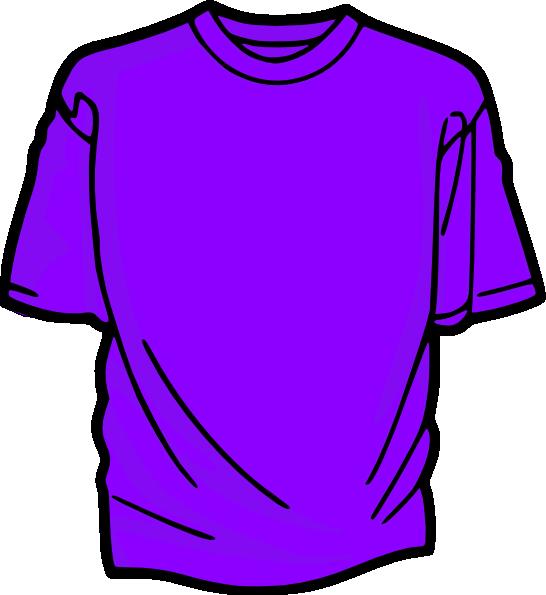 T-shirt-purple Clip Art at Clker.com - vector clip art ...