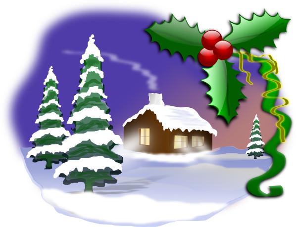 Free christmas gift card clip art