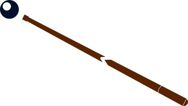 Pool Stick With Ball Clip Art at Clker.com - vector clip art online ...
