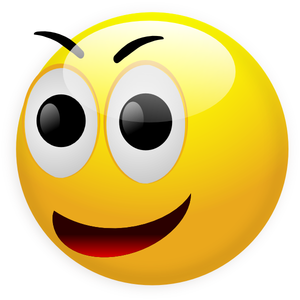 Happy Smiley Clip Art at Clker.com - vector clip art online, royalty ...: www.clker.com/clipart-happy-smiley.html