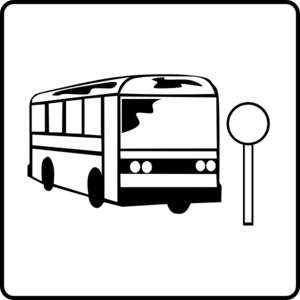 hotel icon near bus stop clip art at clker com vector clip art rh clker com bus stop clipart black and white bus stop clipart black and white