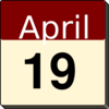 April Clip Art