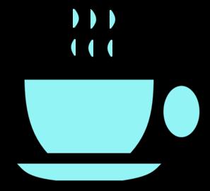 blue tea cup clip art at clker com vector clip art online royalty rh clker com tea cup clip art free download clipart tea cup