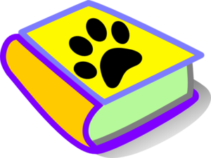 Image result for paw print book