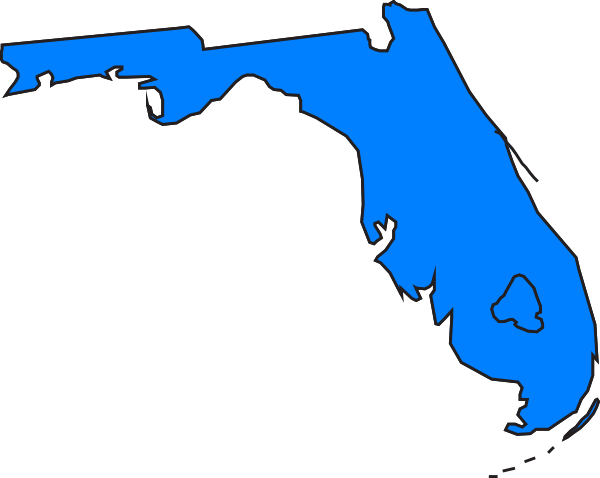 Clip Art Of State Fl : Florida clip art at clker vector online