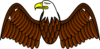 Unlegged Eagle Clip Art