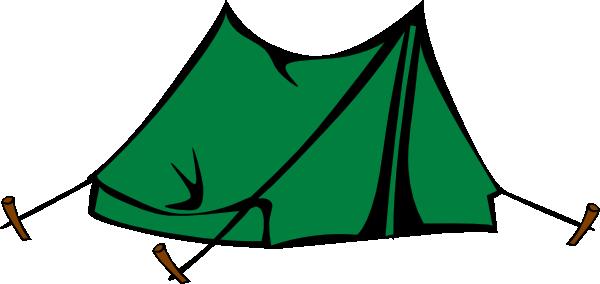 Green Tent Clip Art at Clker.com - 26.8KB
