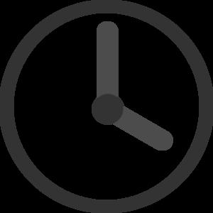 Clock transparent. Clip art at clker