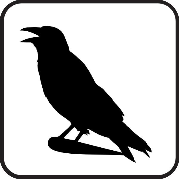 raven sign clip art at clker com vector clip art online royalty rh clker com raven clipart images raven clip art free
