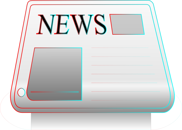 clipart picture of a newspaper - photo #18