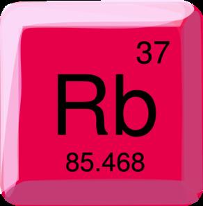 Rubidium Symbol Clip Art at Clker.com - vector clip art online ...