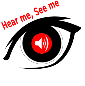 Hear Me See Me Re-do Clip Art