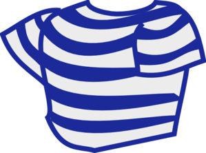 Striped Shirt Clip Art