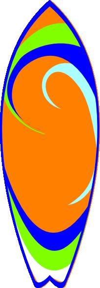 Surfboard Clip Art at Clker.com - 30.9KB