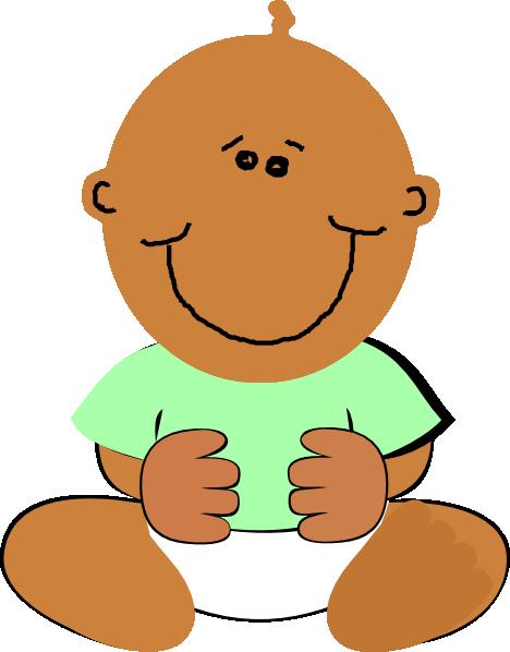 black baby clip art at clker com vector clip art online royalty rh clker com black baby clip art images free black baby clip art free