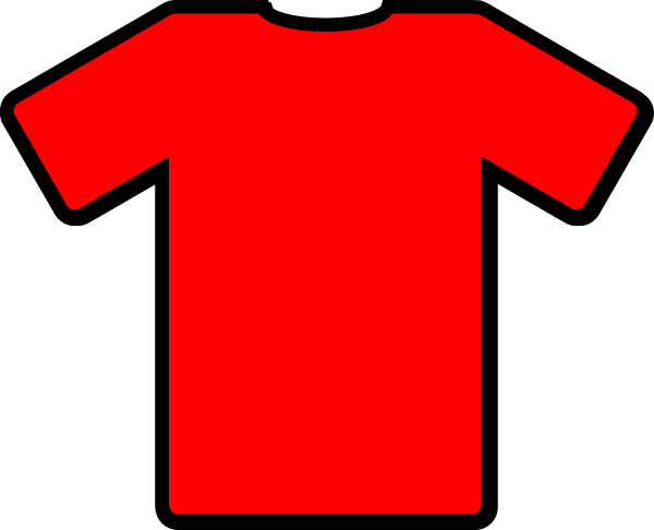 t shirt shape clipart - photo #36