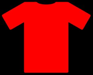 red tshirt clip art at clker com vector clip art online t-shirt blanc clipart t shirt clipart template
