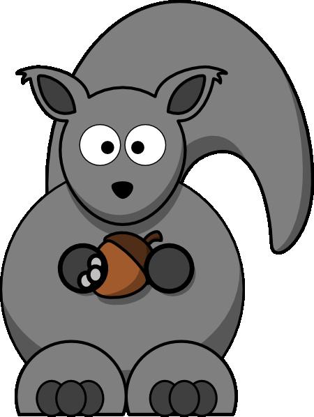 clip art cartoon squirrel - photo #11