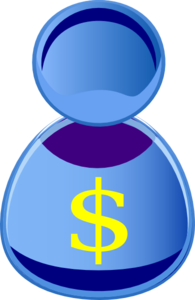 Person Dollar Sign Clip Art
