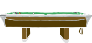 Pool Table Clip Art
