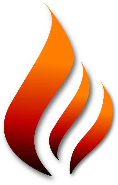 clipart flames of fire - photo #31