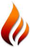 Flame (stylized) Clip Art